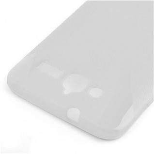 Cadorabo Hülle für Huawei ASCEND GX 1 in HALB TRANSPARENT ? Handyhülle aus flexiblem TPU Silikon ? Silikonhülle Schutzhülle Ultra Slim Soft Back Cover Case Bumper - Vorschau 3