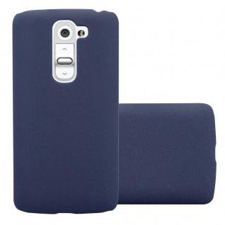 Cadorabo Hülle für LG G2 MINI in FROSTY BLAU - Hardcase Handyhülle aus Plastik gegen Kratzer und Stöße - Schutzhülle Bumper Ultra Slim Back Case Hard Cover