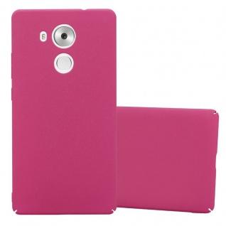 Cadorabo Hülle für Huawei MATE 8 in FROSTY PINK - Hardcase Handyhülle aus Plastik gegen Kratzer und Stöße - Schutzhülle Bumper Ultra Slim Back Case Hard Cover