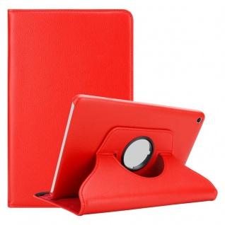 """Cadorabo Tablet Hülle für Huawei MediaPad T1 8 (8, 0"""" Zoll) in MOHN ROT Book Style Schutzhülle OHNE Auto Wake Up mit Standfunktion und Gummiband Verschluss"""