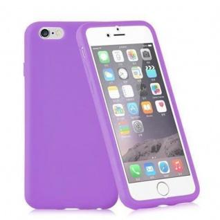 Cadorabo - TPU Silikon Schutzhülle (Full Body Rund-um-Schutz auch für das Display) für Apple iPhone 5 / iPhone 5S / iPhone SE in FLIEDER VIOLETT