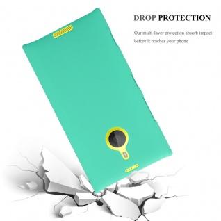 Cadorabo Hülle für Nokia Lumia 1520 in FROSTY GRÜN - Hardcase Handyhülle aus Plastik gegen Kratzer und Stöße - Schutzhülle Bumper Ultra Slim Back Case Hard Cover - Vorschau 3