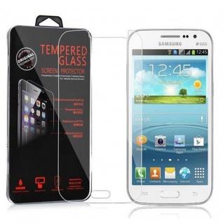 Cadorabo Panzer Folie für Samsung Galaxy WIN - Schutzfolie in KRISTALL KLAR - Gehärtetes (Tempered) Display-Schutzglas in 9H Härte mit 3D Touch Kompatibilität