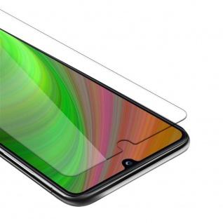 Cadorabo Panzer Folie für Samsung Galaxy A31 Schutzfolie in KRISTALL KLAR Gehärtetes (Tempered) Display-Schutzglas in 9H Härte mit 3D Touch Kompatibilität