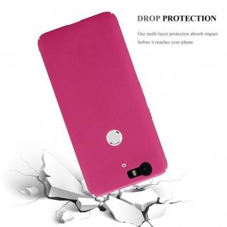 Cadorabo Hülle für Huawei NEXUS 6P in FROSTY PINK - Hardcase Handyhülle aus Plastik gegen Kratzer und Stöße - Schutzhülle Bumper Ultra Slim Back Case Hard Cover - Vorschau 5