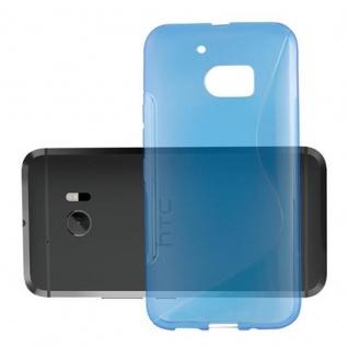 Cadorabo Hülle für HTC 10 (One M10) in ROYAL BLAU - Handyhülle aus flexiblem TPU Silikon - Silikonhülle Schutzhülle Ultra Slim Soft Back Cover Case Bumper - Vorschau 3