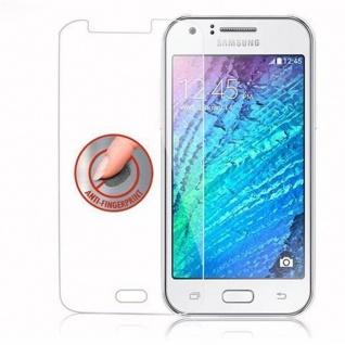 Cadorabo Panzer Folie für Samsung Galaxy J1 - Schutzfolie in KRISTALL KLAR - Gehärtetes (Tempered) Display-Schutzglas in 9H Härte mit 3D Touch Kompatibilität - Vorschau 4