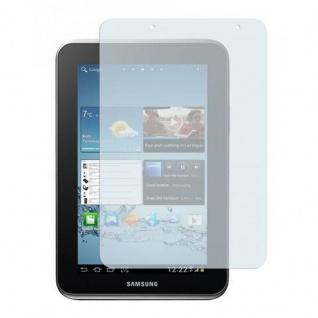 Cadorabo Displayschutzfolien für Samsung Galaxy TAB 2 7.0 Zoll - Schutzfolien in MATT CLEAR - 2 Stück antireflektierende, matte Anti-Reflex-Schutzfolien