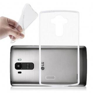 Cadorabo Hülle für LG G4 / G4 PLUS in VOLL TRANSPARENT - Handyhülle aus flexiblem TPU Silikon - Silikonhülle Schutzhülle Ultra Slim Soft Back Cover Case Bumper