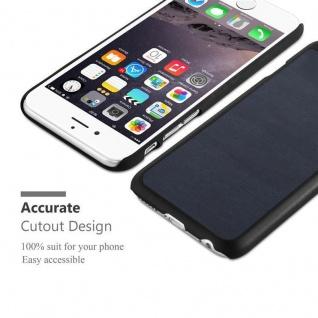 Cadorabo Hülle für Apple iPhone 6 PLUS / iPhone 6S PLUS in WOODY BLAU ? Hardcase Handyhülle aus Plastik gegen Kratzer und Stöße ? Schutzhülle Bumper Ultra Slim Back Case Hard Cover - Vorschau 4