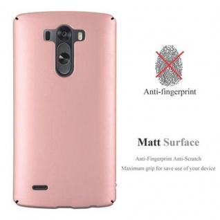 Cadorabo Hülle für LG G3 in METALL ROSE GOLD - Hardcase Handyhülle aus Plastik gegen Kratzer und Stöße - Schutzhülle Bumper Ultra Slim Back Case Hard Cover - Vorschau 2