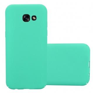 Cadorabo Hülle für Samsung Galaxy A5 2017 in FROSTY GRÜN - Hardcase Handyhülle aus Plastik gegen Kratzer und Stöße - Schutzhülle Bumper Ultra Slim Back Case Hard Cover