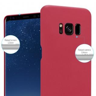Cadorabo Hülle für Samsung Galaxy S8 PLUS in FROSTY ROT - Hardcase Handyhülle aus Plastik gegen Kratzer und Stöße - Schutzhülle Bumper Ultra Slim Back Case Hard Cover - Vorschau 4
