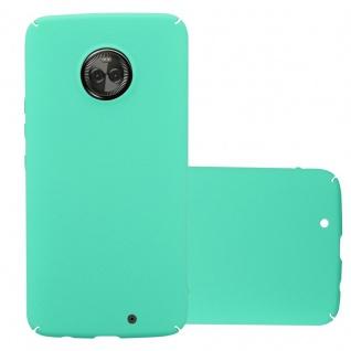 Cadorabo Hülle für Motorola MOTO X4 in FROSTY GRÜN - Hardcase Handyhülle aus Plastik gegen Kratzer und Stöße - Schutzhülle Bumper Ultra Slim Back Case Hard Cover