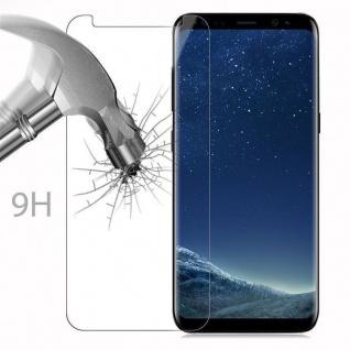 Cadorabo Panzer Folie für Samsung Galaxy S8 PLUS - Schutzfolie in KRISTALL KLAR - Gehärtetes (Tempered) Display-Schutzglas in 9H Härte mit 3D Touch Kompatibilität - Vorschau 3