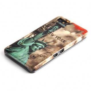 Cadorabo - Hard Cover für Blackberry Z10 - Case Cover Schutzhülle Bumper im Design: NEW YORK - FREIHEITSSTATUE - Vorschau 3
