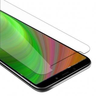 Cadorabo Panzer Folie für Xiaomi Mi A2 / 6X - Schutzfolie in KRISTALL KLAR - Gehärtetes (Tempered) Display-Schutzglas in 9H Härte mit 3D Touch Kompatibilität