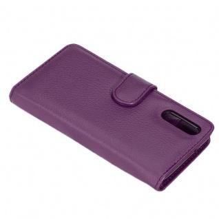 Cadorabo Hülle für Huawei P20 PRO in BORDEAUX LILA ? Handyhülle mit Magnetverschluss und 3 Kartenfächern ? Case Cover Schutzhülle Etui Tasche Book Klapp Style - Vorschau 5
