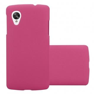 Cadorabo Hülle für LG Nexus 5 in FROSTY PINK - Hardcase Handyhülle aus Plastik gegen Kratzer und Stöße - Schutzhülle Bumper Ultra Slim Back Case Hard Cover