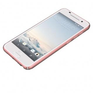 Cadorabo Hülle für HTC One A9 in METALL ROSÉ GOLD ? Hardcase Handyhülle aus Plastik gegen Kratzer und Stöße ? Schutzhülle Bumper Ultra Slim Back Case Hard Cover - Vorschau 3