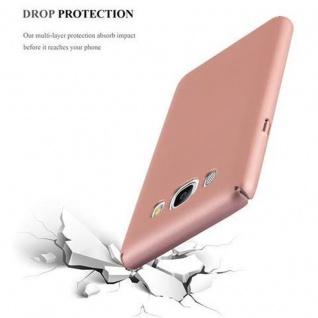 Cadorabo Hülle für Samsung Galaxy J5 2016 in METALL ROSE GOLD - Hardcase Handyhülle aus Plastik gegen Kratzer und Stöße - Schutzhülle Bumper Ultra Slim Back Case Hard Cover - Vorschau 5