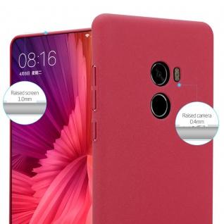 Cadorabo Hülle für Xiaomi Mi Mix 2 in FROSTY ROT - Hardcase Handyhülle aus Plastik gegen Kratzer und Stöße - Schutzhülle Bumper Ultra Slim Back Case Hard Cover - Vorschau 3