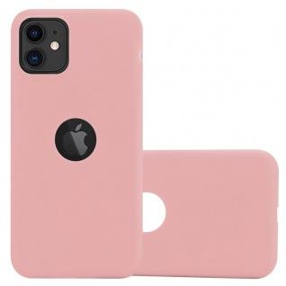 Cadorabo Hülle für Apple iPhone 11 (XI) in CANDY ROSA - Handyhülle aus flexiblem TPU Silikon - Silikonhülle Schutzhülle Ultra Slim Soft Back Cover Case Bumper