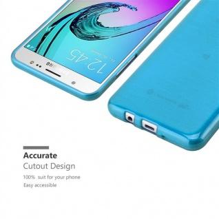 Cadorabo Hülle für Samsung Galaxy J7 2016 in TÜRKIS - Handyhülle aus flexiblem TPU Silikon - Silikonhülle Schutzhülle Ultra Slim Soft Back Cover Case Bumper - Vorschau 5