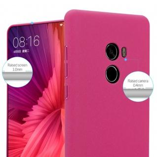 Cadorabo Hülle für Xiaomi Mi Mix 2 in FROSTY PINK - Hardcase Handyhülle aus Plastik gegen Kratzer und Stöße - Schutzhülle Bumper Ultra Slim Back Case Hard Cover - Vorschau 3