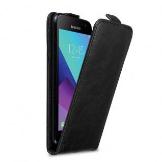 Cadorabo Hülle für Samsung Galaxy XCover 3 in KAFFEE BRAUN - Handyhülle im Flip Design mit unsichtbarem Magnetverschluss - Case Cover Schutzhülle Etui Tasche Book Klapp Style