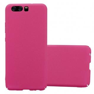 Cadorabo Hülle für Huawei P10 in FROSTY PINK - Hardcase Handyhülle aus Plastik gegen Kratzer und Stöße - Schutzhülle Bumper Ultra Slim Back Case Hard Cover