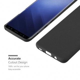 Cadorabo Hülle für Samsung Galaxy S9 in FROSTY SCHWARZ - Hardcase Handyhülle aus Plastik gegen Kratzer und Stöße - Schutzhülle Bumper Ultra Slim Back Case Hard Cover - Vorschau 5