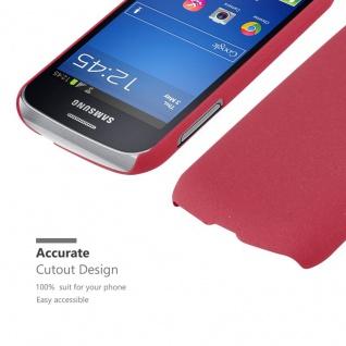 Cadorabo Hülle für Samsung Galaxy TREND LITE in FROSTY ROT - Hardcase Handyhülle aus Plastik gegen Kratzer und Stöße - Schutzhülle Bumper Ultra Slim Back Case Hard Cover - Vorschau 5