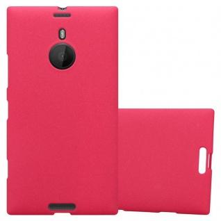 Cadorabo Hülle für Nokia Lumia 1520 in FROST ROT - Handyhülle aus flexiblem TPU Silikon - Silikonhülle Schutzhülle Ultra Slim Soft Back Cover Case Bumper