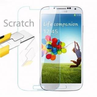 Cadorabo Panzer Folie für Samsung Galaxy S4 - Schutzfolie in KRISTALL KLAR - Gehärtetes (Tempered) Display-Schutzglas in 9H Härte mit 3D Touch Kompatibilität - Vorschau 2
