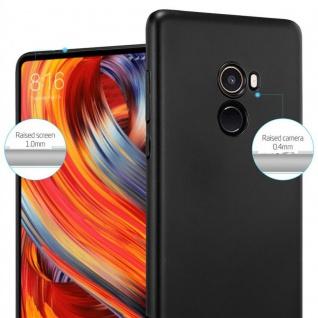 Cadorabo Hülle für Xiaomi Mi Mix 2 in METALL SCHWARZ ? Hardcase Handyhülle aus Plastik gegen Kratzer und Stöße ? Schutzhülle Bumper Ultra Slim Back Case Hard Cover - Vorschau 4