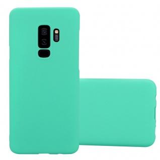 Cadorabo Hülle für Samsung Galaxy S9 PLUS in FROSTY GRÜN - Hardcase Handyhülle aus Plastik gegen Kratzer und Stöße - Schutzhülle Bumper Ultra Slim Back Case Hard Cover