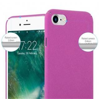 Cadorabo Hülle für Apple iPhone 7 / iPhone 7S / iPhone 8 in FROSTY PINK - Hardcase Handyhülle aus Plastik gegen Kratzer und Stöße - Schutzhülle Bumper Ultra Slim Back Case Hard Cover - Vorschau 4
