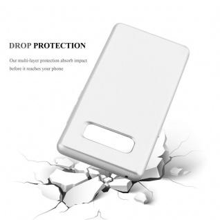 Cadorabo Hülle für Samsung Galaxy NOTE 8 in METALLIC SILBER - Handyhülle aus flexiblem TPU Silikon - Silikonhülle Schutzhülle Ultra Slim Soft Back Cover Case Bumper - Vorschau 3