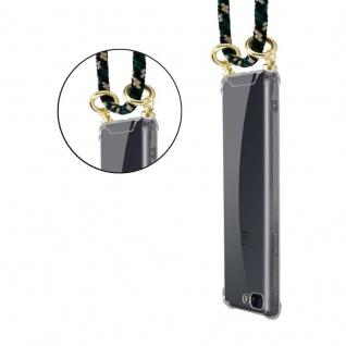 Cadorabo Handy Kette für OnePlus 5 in CAMOUFLAGE Silikon Necklace Umhänge Hülle mit Gold Ringen, Kordel Band Schnur und abnehmbarem Etui Schutzhülle - Vorschau 2