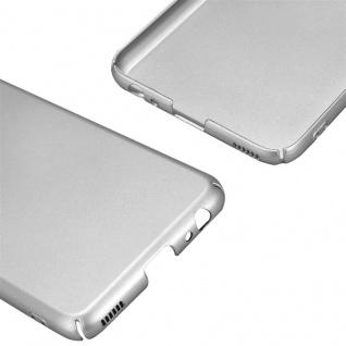 Cadorabo Hülle für Huawei P10 in METALL SILBER - Hardcase Handyhülle aus Plastik gegen Kratzer und Stöße - Schutzhülle Bumper Ultra Slim Back Case Hard Cover - Vorschau 5