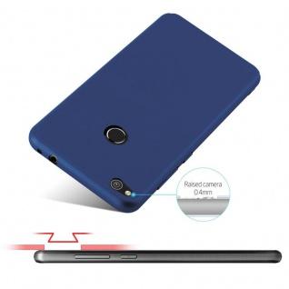 Cadorabo Hülle für Huawei P8 LITE 2017 in METALL BLAU - Hardcase Handyhülle aus Plastik gegen Kratzer und Stöße - Schutzhülle Bumper Ultra Slim Back Case Hard Cover - Vorschau 4