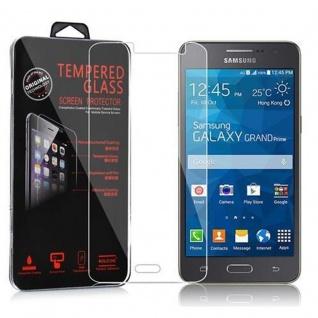 Cadorabo Panzer Folie für Samsung Galaxy GRAND PRIME - Schutzfolie in KRISTALL KLAR - Gehärtetes (Tempered) Display-Schutzglas in 9H Härte mit 3D Touch Kompatibilität