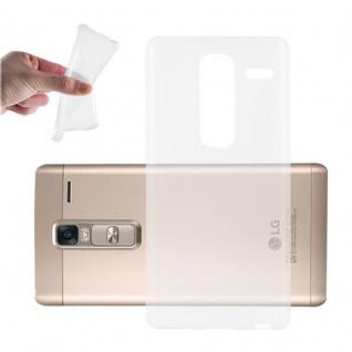 Cadorabo Hülle für LG CLASS - Hülle in VOLL TRANSPARENT ? Handyhülle aus TPU Silikon im Ultra Slim 'AIR' Design - Ultra Slim Soft Backcover Case Bumper