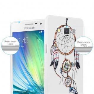 Cadorabo Hülle für Samsung Galaxy A3 2015 - Hülle im Design TRAUMFÄNGER ? Handyhülle aus TPU Silikon mit Aufdruck - Silikonhülle Schutzhülle Ultra Slim Soft Back Cover Case Bumper - Vorschau 2