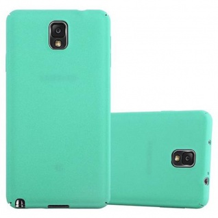 Cadorabo Hülle für Samsung Galaxy NOTE 3 in FROSTY GRÜN - Hardcase Handyhülle aus Plastik gegen Kratzer und Stöße - Schutzhülle Bumper Ultra Slim Back Case Hard Cover