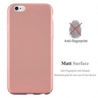 Cadorabo Hülle für Apple iPhone 6 PLUS / iPhone 6S PLUS in METALL ROSE GOLD - Hardcase Handyhülle aus Plastik gegen Kratzer und Stöße - Schutzhülle Bumper Ultra Slim Back Case Hard Cover - Vorschau 2