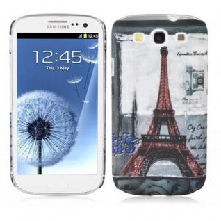 Cadorabo - Hard Cover für Samsung Galaxy S3 / S3 NEO - Case Cover Schutzhülle Bumper im Design: PARIS - EIFFELTURM