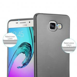 Cadorabo Hülle für Samsung Galaxy A5 2016 in SCHWARZ - Handyhülle aus flexiblem TPU Silikon - Silikonhülle Schutzhülle Ultra Slim Soft Back Cover Case Bumper - Vorschau 2