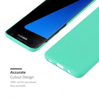 Cadorabo Hülle für Samsung Galaxy S7 EDGE in FROSTY GRÜN - Hardcase Handyhülle aus Plastik gegen Kratzer und Stöße - Schutzhülle Bumper Ultra Slim Back Case Hard Cover - Vorschau 5